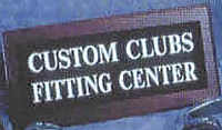 """Custom Built Clubs"" Sign"